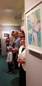 výstava malířky Zdeňky Urbanové vernisáž