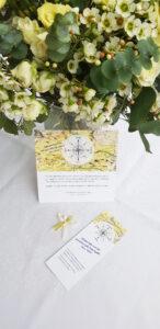 Zdeňka Urbanová grafika svatební oznámení
