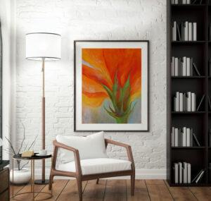 Obraz do obýváku malířka Zdeňka Urbanová